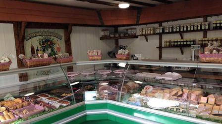 The newly refurbished deli when it opened. Pic: David Smith