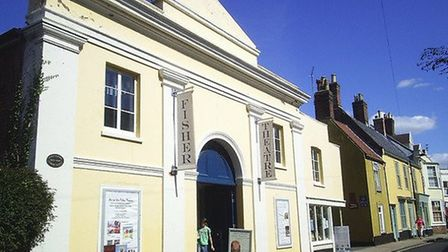 The Fisher Theatre, in Bungay. Photo: The Fisher Theatre.