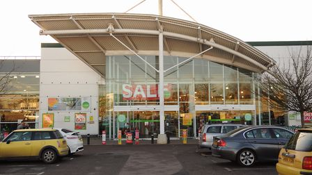 The Homebase store at Hall Road, which is set to get smaller, with Iceland and Home Bargains sharing