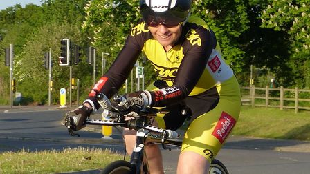 Jan Smith (Great Yarmouth CC) - second woman in the CC Breckland 25 Picture: FERGUS MUIR