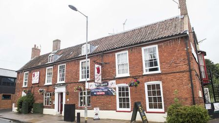 Breckland Council uses the King's Head in Dereham to house homeless people. The manager said there h