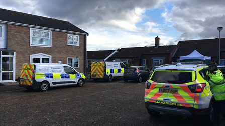Norfolk Police investigating incident in Brooke. Picture: Conor Matchett