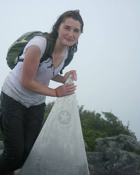 Tamsin Grundy enjoying a climbing holiday Picture: Courtesy of the Grundy family