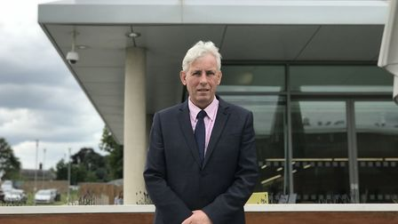 Dr Chris Bushby, the CEO of The Big C, outside the Centrum Institute. Picture: Ella Wilkinson