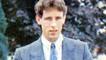 Chris Bushby in 1987. Pic: Archant