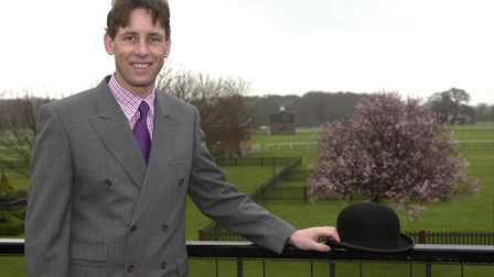 Chris Bushby at the Suffolk Showground in 2003. Pic; Archant