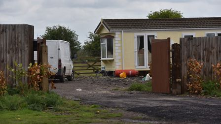 Caravans on a site near the airport off Cromer RoadCopyright: Archant 2019