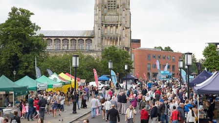 There's loads of opportunities to eat and shop at the Proudly Norfolk Food and Drink Festival 2019