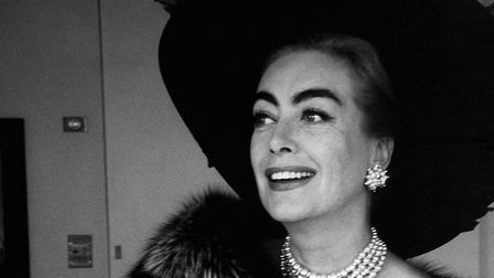 American actress Joan Crawford in Los Angeles (1959) Credit: Eve Arnold