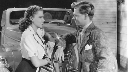 Judy Garland and Mickey Rooney in Life Begins for Andy Hardy (1941). Picture: Metro-Goldwyn-Mayer/IM