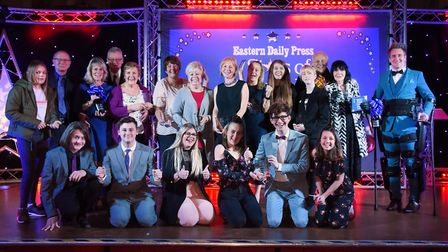 The finalists of the Stars of Norfolk and Waveney Awards. Picture: DENISE BRADLEY