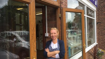 Pippa Hyde, co-owner of Tea, Bags and Shoes on Plumstead Road. Picture: Archant