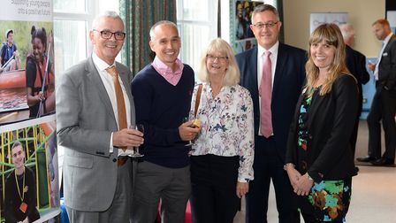 Inspire Suffolk have unveiled their refurbished new venue at Colville House. PHOTO: Inspire Suffolk