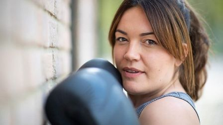 Liz Sharpe, who suffers with PTSD after serving with the Royal Engineers in Afghanistan, is raising