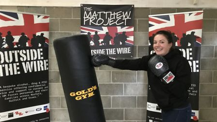 Elizabeth Sharpe, will be holding a white collar boxing event to raise money for the Matthew Project