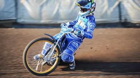 Ty Proctor believes King's Lynn Stars can turn their season around on home shale. Picture: IAN BURT
