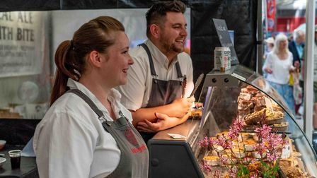 The Royal Norfolk Show has been referred to as 'foodie heaven' Picture: Lee Blanchflower