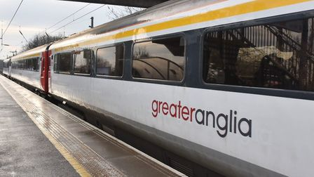 A train has broken down between Diss and Norwich, causing disruption to London-bound services. Pictu
