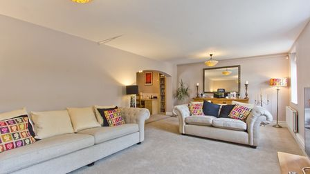 The property retains much of its original charm and features stylish and spacious rooms. Picture: Lo