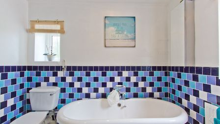 The property has been well-decorated and maintained throughout - including in this, the family bathr