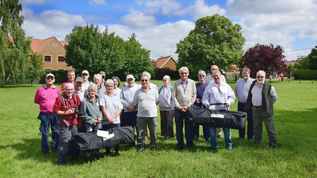 Groups receive their equipment from the council Picture: West Norfolk council