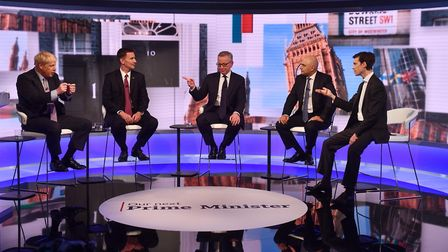 Tough questioning for the candidates. What about you? Picture: JEFF OVERS/BBC/PA WIRE