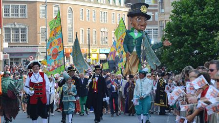 The Lord Mayor's Procession 2018. Picture: Sonya Duncan