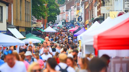 The Norwich Lanes Summer Fayre returns for 2019. Picture: Ian Burt