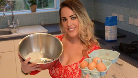 Polly Guy won Come Dine With Me in 2011 and the Champion of Champions show in 2016 Credit: SIMON FIN