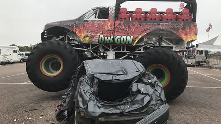 The Monster Truck at Great Yarmouth Wheels Festival. Picture: Neil Didsbury