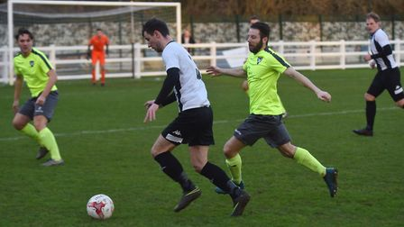 Former Harleston Town playe Jake Imrie has signed for Dereham Town Picture: SONYA DUNCAN