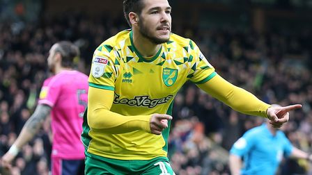 Emi Buendia enjoyed a superb first season with Norwich City, scoring eight goals Picture: Paul Chest