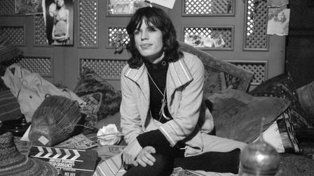 """Mick Jagger of the Rolling Stones is pictured on the set of the film """"Performance"""" his first movie a"""