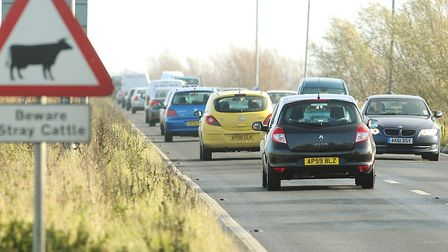 The Acle Straight, near Great Yarmouth, which is one area where the offences took place. Picture: AR
