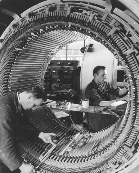 Trade and Industry - ManufacturingEngineers at work in 1962 at Laurence, Scott and Electromotors o