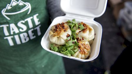 Momos are a speciality of Taste Tibet Picture: Taste Tibet