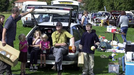 THE CAR BOOT SALE TAKES PLACE AT THE FORMER BOWTHORPE SCHOOL SITE ON SATURDAY een 2.9.02