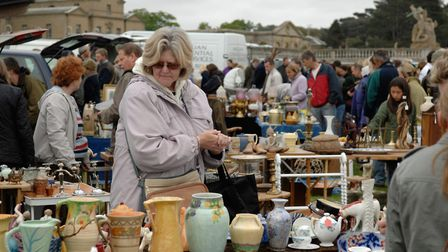 Holkham Hall, Near Wells next the SeaStately Car Boot Sale at Holkham Hall in aid of Norfolk Churche