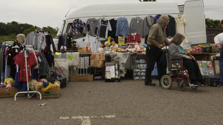 The Car Boot sale held on the Cattle Market off Hall Road.Pictures:SONYA BROWNCopy:For: EN©Evening N
