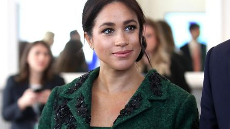 The Duchess of Sussex. Pic: Chris Jackson/PA Wire/PA Images