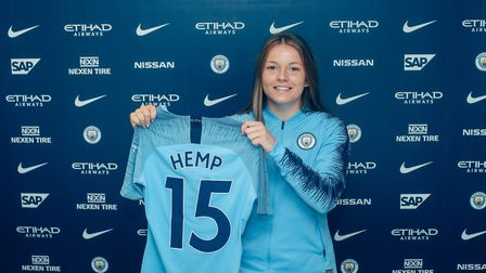 Lauren Hemp has been included in the England Under-19s squad. Picture: Tom Flathers, Manchester City