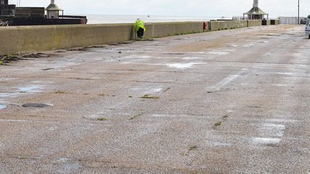 Police were called to Lowestoft's South Pier. Picture: Nick Butcher
