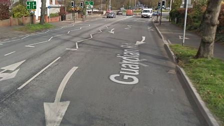 Police are appealing for witnesses following a crash on Guardian Road in Norwich. Picture Google.