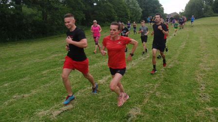 Thetford parkrun on Saturday 6th July 2019. Picture: Graham Wade