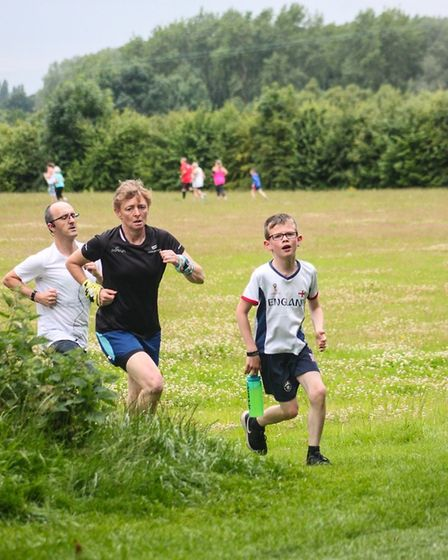 Loch Neaton parkrun on Saturday 6th July 2019. Picture: Tracey Johnson