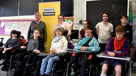 Pupils at the Clare School would like Norwich to become a kind city, with improved accessibility and
