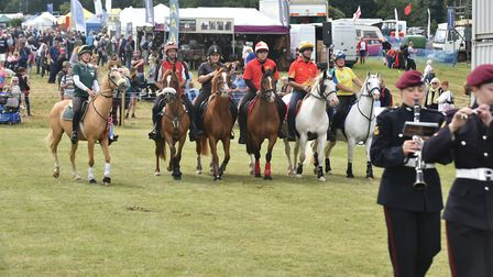 A scene from a previous Holkham Country Fair. Picture: Sonya Duncan