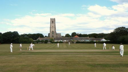 Happisburgh Cricket Club, the scene of some remarkable batting exploits at the weekend Picture: ARCH