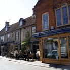 Holt town centre's mix of independent shops and restaurants make it a great place to shop says Iain