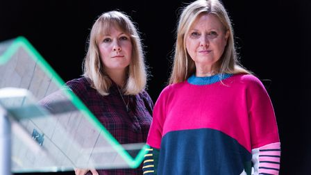 Molly Naylor and Karen Hill from Lights! Planets! People! Credit: Dave Guttridge The Photographic
